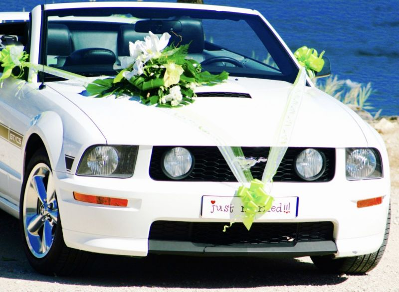 location mustang mariage avec chauffeur