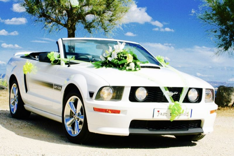 location mustang cabriolet avec chauffeur